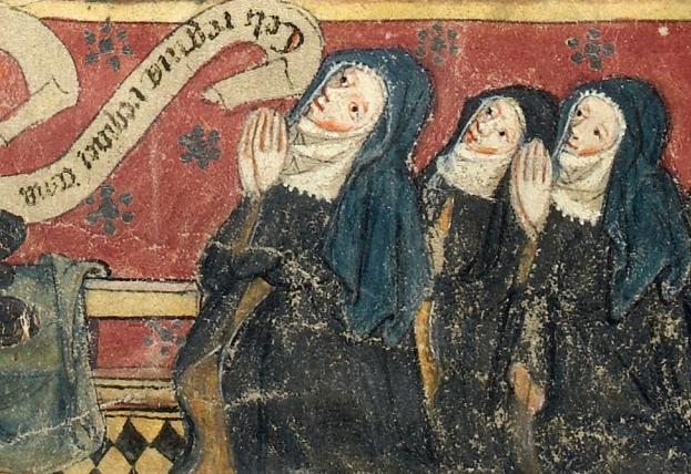 medieval-nuns